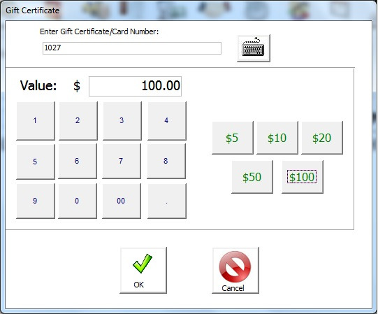 gift card point of sale software